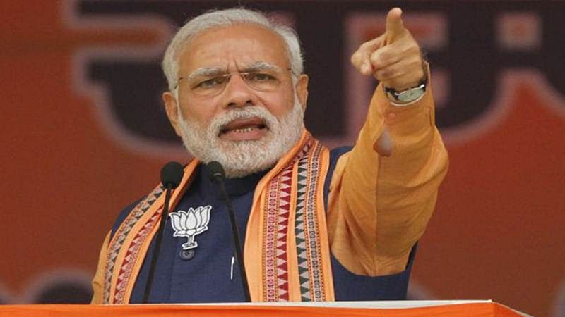 Congress a sinking ship, is history, says Modi