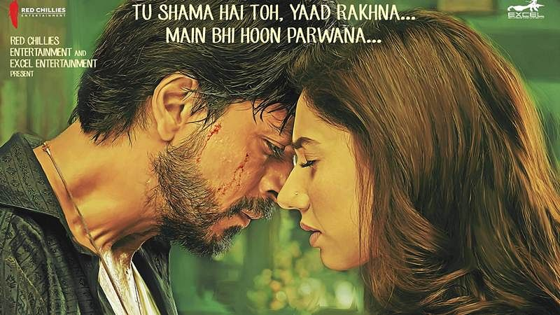Fall in love again and again with new song from Raees 'Zaalima'