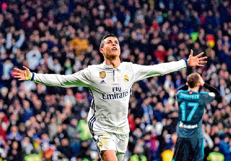 Ronaldo propels Real Madrid