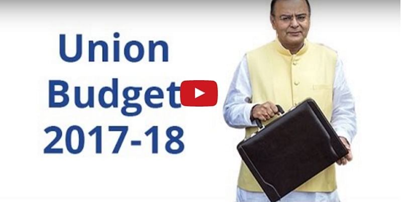 Watch full streaming of Union Budget 2017-18 present by FM Arun Jaitley