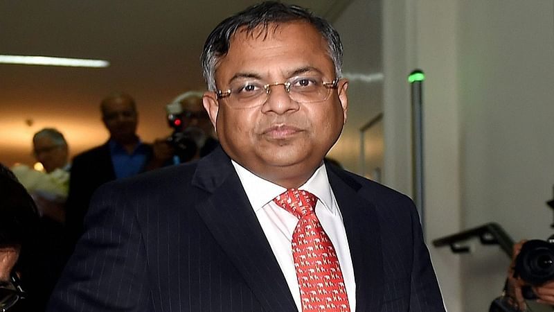 Newly appointed Tata Sons Chairman, Natarajan Chandrasekaran.