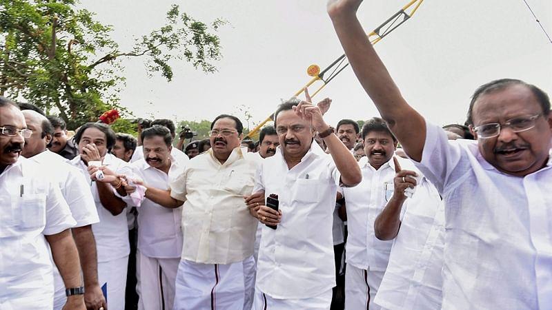 DMK urges Governor to 'nullify' trust vote