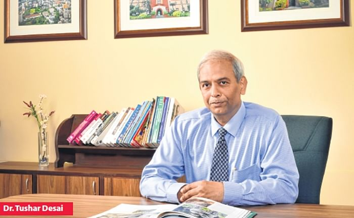 """""""We are trying to motivate students to be more on campus rather than off it"""", says Dr. Tushar Desai"""