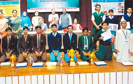 Bhopal: Hardik, Devashish win quiz contest