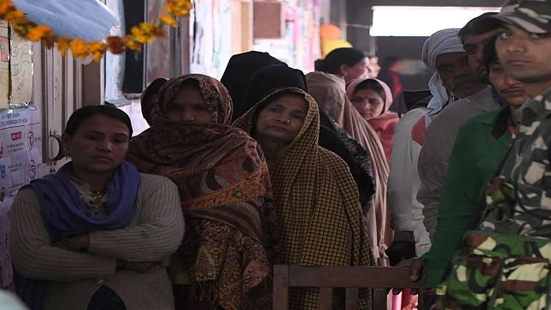 BMC Civic polls: 17 per cent voters turnout in first four hours