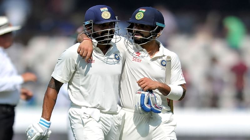 IndvsBan: Kohli, Vijay's tons take India to 356/3 vs Bangladesh