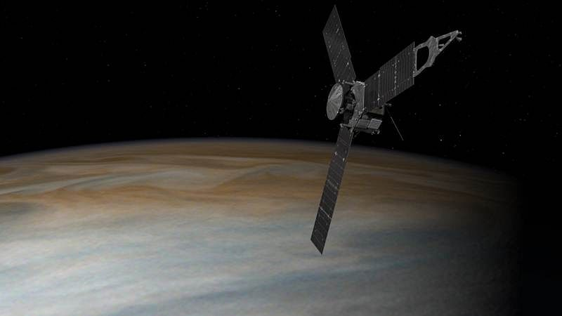 Juno will remain and probe in Jupiter's current orbit