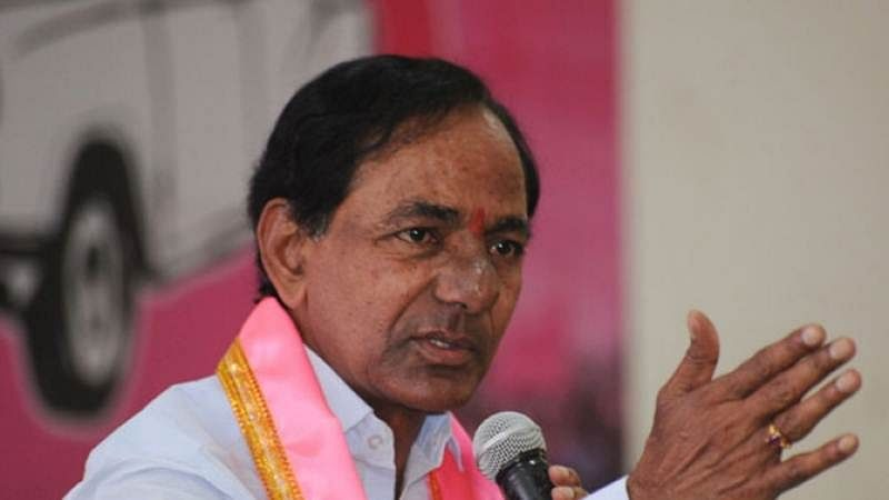 Telangana will become blind if Congress comes to power: KCR