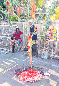 Ujjain: Devotees take holy dip in Kshipra