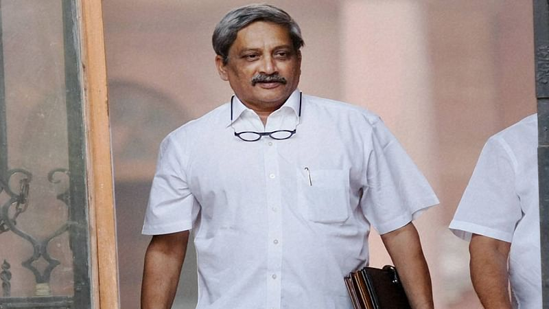 CM Manohar Parrikar arrives in Goa, likely to present state budget