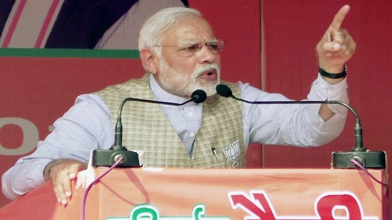 PM should talk of Vyapam, Mallya when he says govt blot-free: Cong