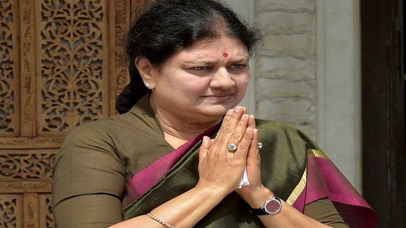 Shocking! Video of Sasikala allegedly entering jail in civilian attire goes viral. Watch it