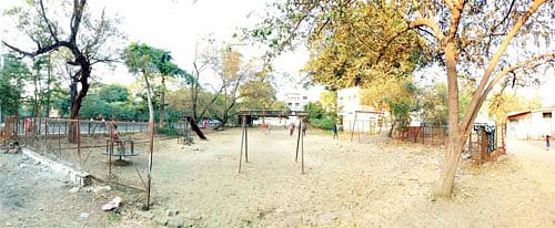 Bhopal: Cattle pond, the name given to Shivaji Nagar Park by residents