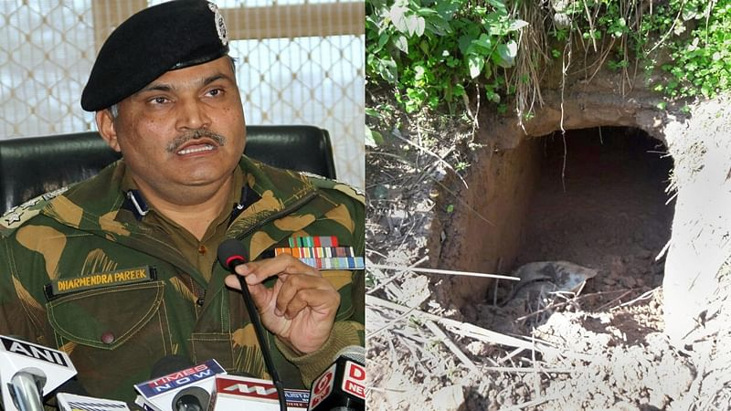 Jammu: BSF detects tunnel along International Border in Samba district