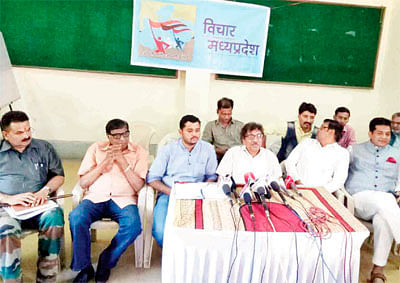 Bhopal: Vichar MP to launch 'Jabab Do-Hisab Do' to corner government