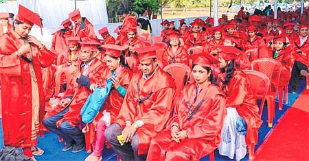 Ujjain: Irked at mismanagement, students, threaten to boycott VUconvocation