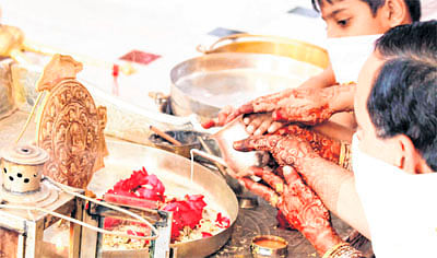 Indore: Worshipping goddess of 'Vidya'