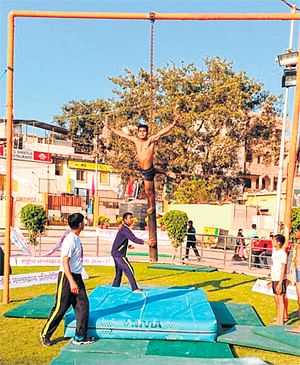 Ujjain: Youngsters see malkhamb as sport of future