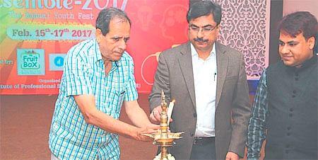 Indore: Youth fest ENSEMBLE begins at Vishisht School of Management
