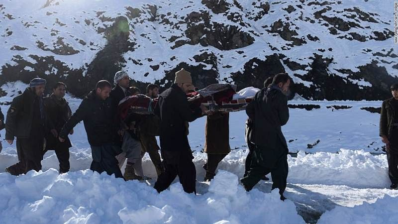 Afghan official: Avalanches in Afghanistan kill at least 119