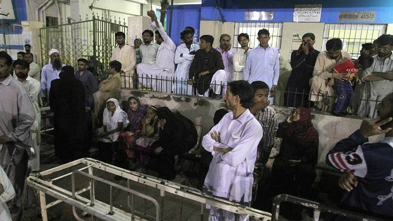 30 dead as blast rips through sufi shrine in Pakistan