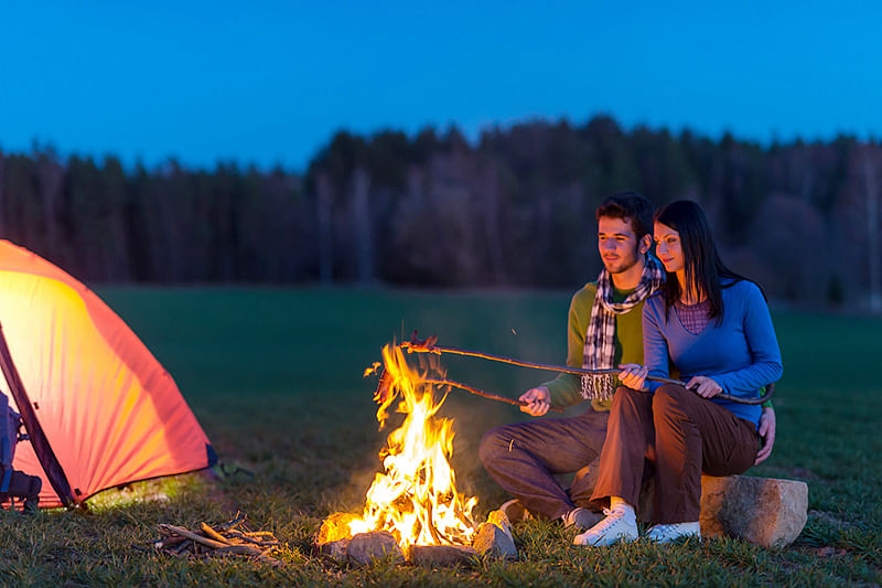 Camping for a weekend solves your sleep issues