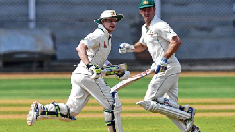 Smith, Marsh put India A attack to the sword