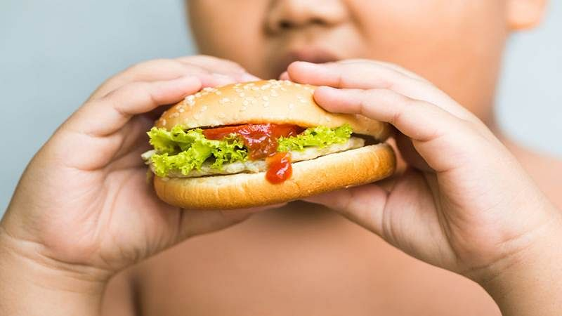 Obesity in kids is inherited from parents