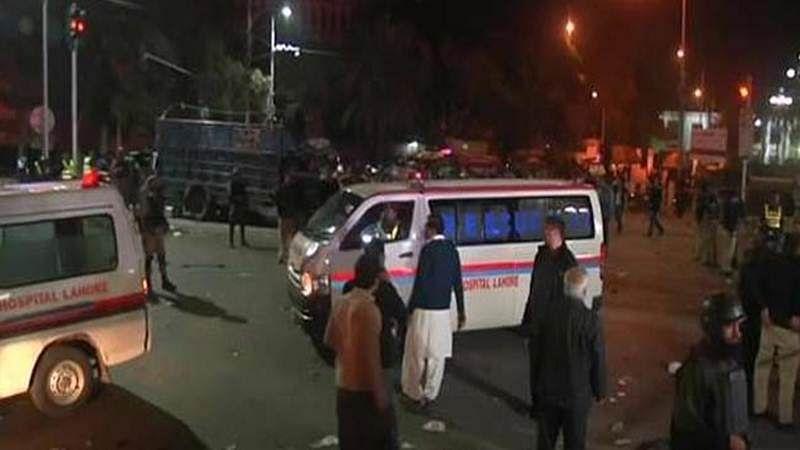 Blast near Indian eatery kills eight in Lahore