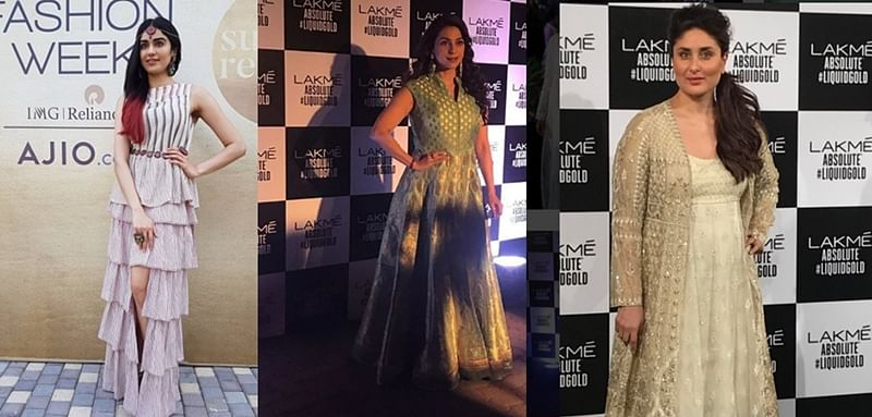 Celebrity Spotting at Fashion Week: From Kareena Kapoor to Juhi Chawla check them out at their fashionable best!