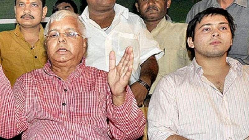 Lalu plays down Rabri's suggestion of son Tejaswi as CM