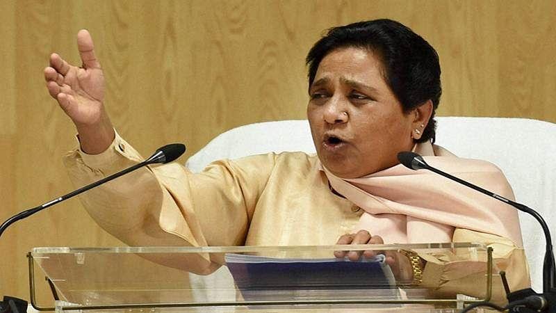 BJP is weakening constitutional institutions, media, accuses Mayawati