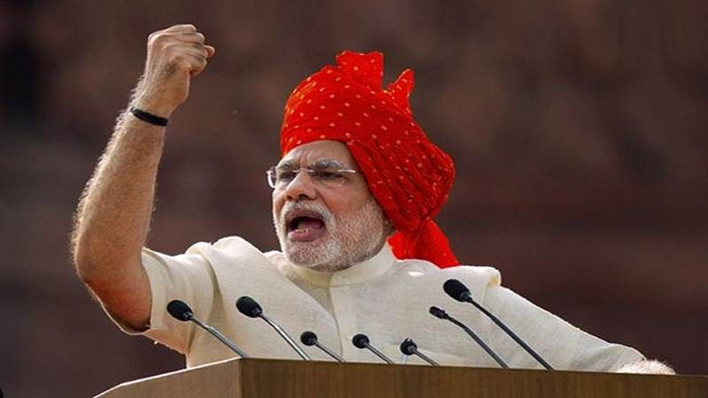 SP patronizing 'copying mafia', playing with future of youth: Narendra Modi