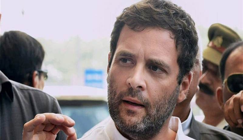 Scared Modi tries to create tension between two religions: Rahul Gandhi