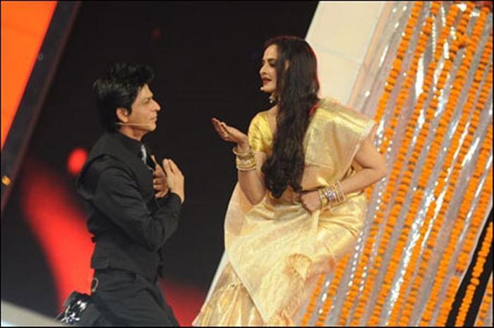 Rekha to give 4th Yash Chopra Memorial Award to Shah Rukh