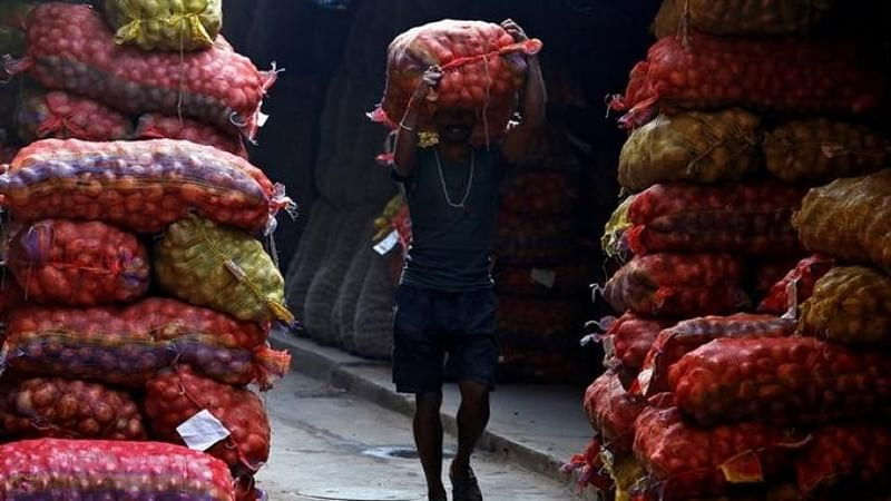 India's wholesale price inflation at 6.55% in February