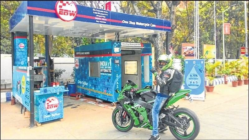 Mumbai: Express Bike Wash could save 12 mn litres of water
