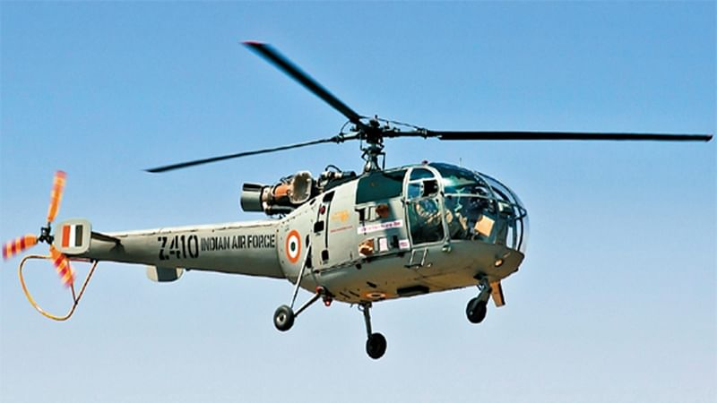 Telangana: Chetak helicopter makes emergency landing after technical snag