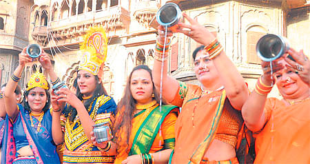 Indore: Cheti Chand celebrated with fervour
