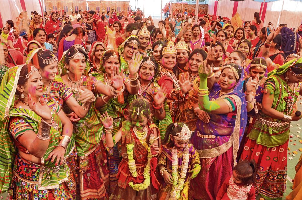 Indore: Yongsters call for eco-friendly Holi