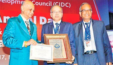 Bhopal: HHPC CMD KM Singh is 'Industry Doyen'