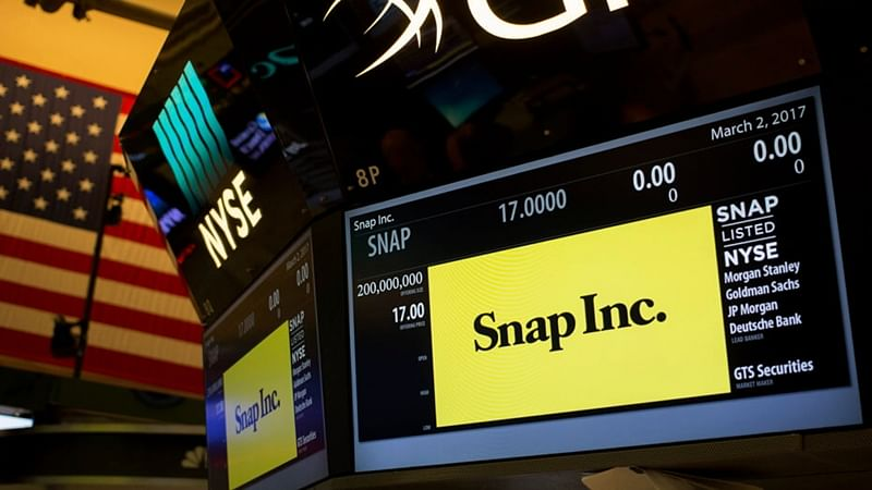 Snapchat shares soar 44% on listing, valuation $28 billion