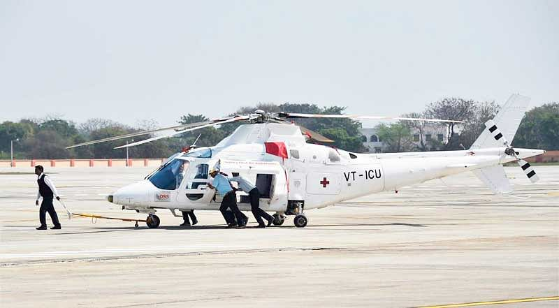 India's first heliport becomes operational in Delhi