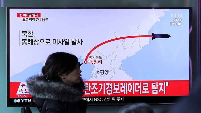 North Korea fires 4 ballistic missiles into the Sea of Japan