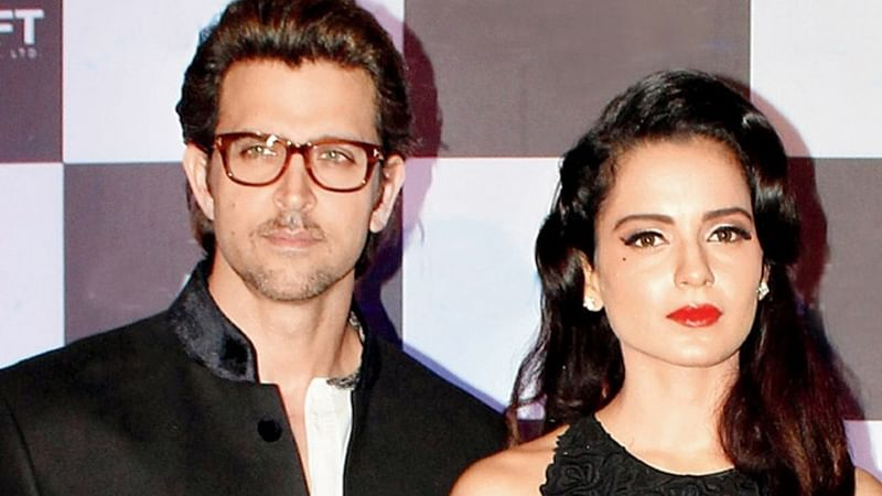 OMG! Kangana Ranaut's sister Rangoli attacks Hrithik Roshan on social media