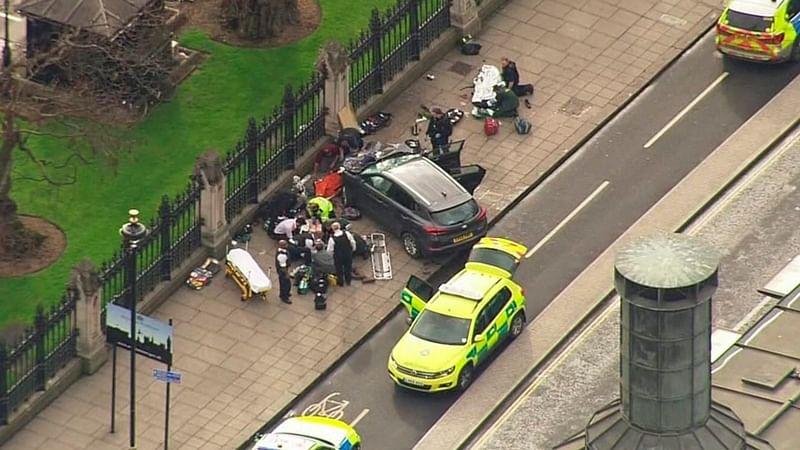 London Westminster attacker identified as Khalid Masood