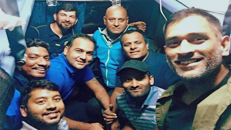 MS Dhoni, Jharkhand teammates rescued from fire at a hotel in Dwarka