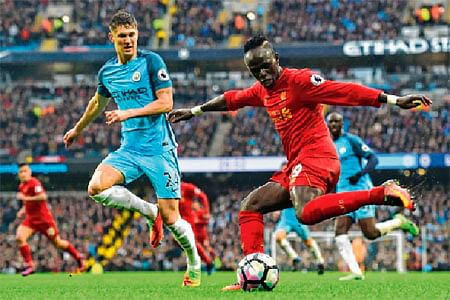 Manchester City 1, Liverpool 1