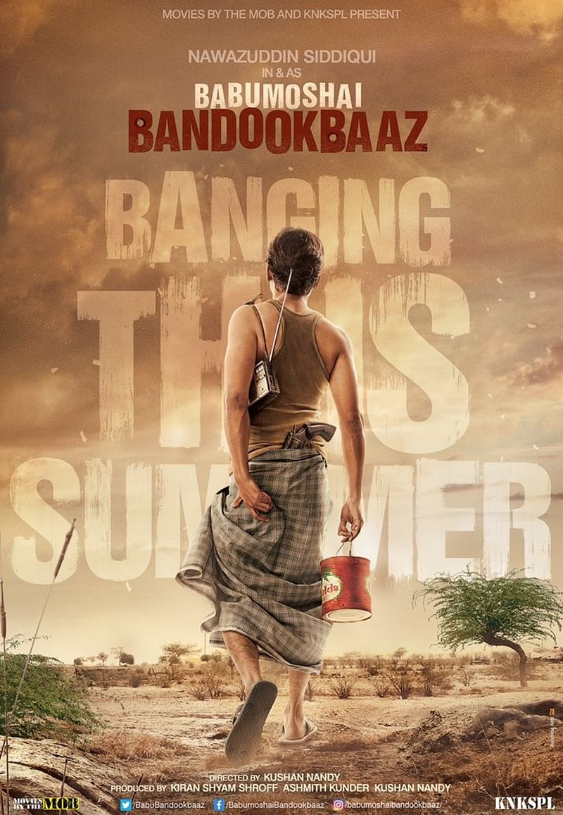 Nawazuddin Siddiqui shares 'Babumoshai Bandookbaaz's teaser poster