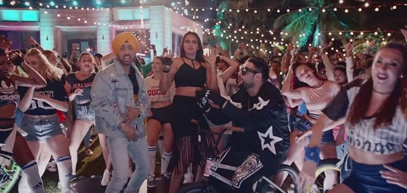 "Watch: Noor's next party song ""Move Your Lakk"" with Sonakshi Sinha, Diljit and Badshah"